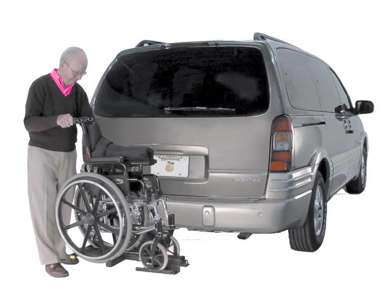 Wheelchair Lift For Car >> Wheelchair Lifts External Vehicle Lifts Tilt N Tote Wheelchair Lift