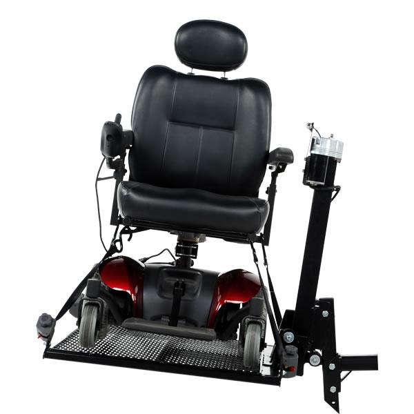 Wheelchair Lift For Car >> Auto Power Chair Lift 350 Steel Platform